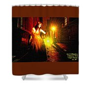 Night Search No. 20 L A Shower Curtain