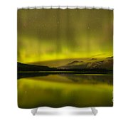 Night Skies And Northern Lights Shower Curtain
