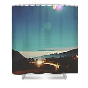 Night Sky Around Mount Bromo In Java, Indonesia Shower Curtain