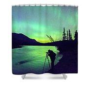 Night Sky Photographer Shower Curtain