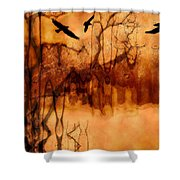 Night Stalkers Shower Curtain