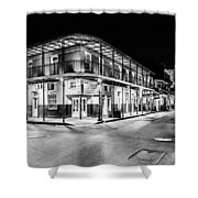 Night Time In The City Of New Orleans I Shower Curtain by Tony Reddington