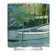 Night Time On Boot Key Shower Curtain