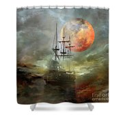 Night Travel Shower Curtain