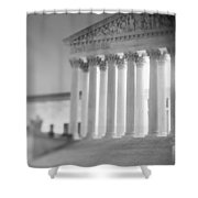 Night Us Supreme Court Washington Dc Shower Curtain