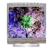 Night Vision Shower Curtain by Eikoni Images