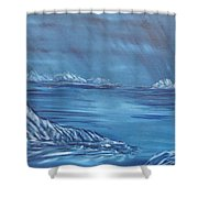 Night World Shower Curtain