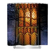 Night Worship Shower Curtain