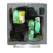 Texture Of Night Painting Shower Curtain