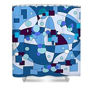 Nightall Shower Curtain