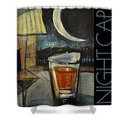 Nightcap Poster Shower Curtain