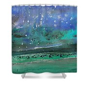 Nightfall 25 Shower Curtain