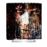 Night Eyes Shower Curtain