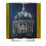 Nights Of Lights Presbyterian Memorial Church St Augustine Florida  Shower Curtain