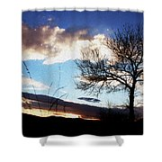 Nightsky Shower Curtain