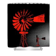 Nightwatch Shower Curtain by Wendy J St Christopher