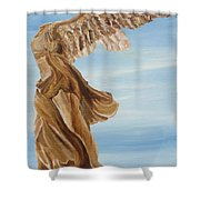 Nike Goddess Of Victory Shower Curtain