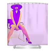 Niki Shower Curtain by Naxart Studio