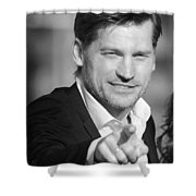 Nikolaj Coster-waldau 6 Shower Curtain