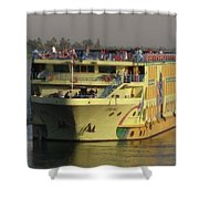 Nile Cruise Ship Shower Curtain