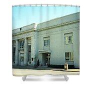 Niles, Ohio - Vintage Bank Shower Curtain