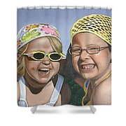 Nina And Francis Shower Curtain