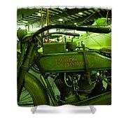 Nineteen Eighteen Harley Davidson Shower Curtain
