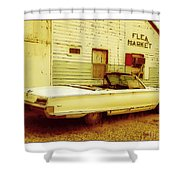 Nineteen Fifty-seven Ford Fairlane Shower Curtain