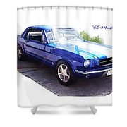 Nineteen Sixty-five Mustang Shower Curtain