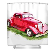 Nineteen Thirty-two Ford Coupe Shower Curtain