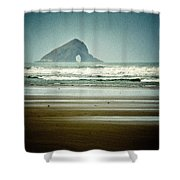 Ninety Mile Beach Shower Curtain by Dave Bowman