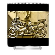 Ninja Motorcycle Colection Shower Curtain