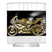 Ninja Motorcycle Collection Shower Curtain