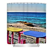 Nippers View Shower Curtain