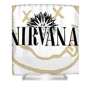 Nirvana No.06 Shower Curtain by Caio Caldas