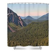 Nisqually Valley In Color Shower Curtain