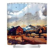 Niwot Colorado 3 Shower Curtain