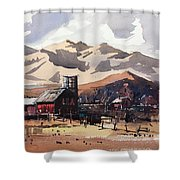 Niwot Colorado Shower Curtain