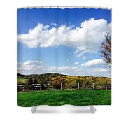 17th Hole Shower Curtain