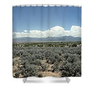 New Mexico Landscape 3 Shower Curtain