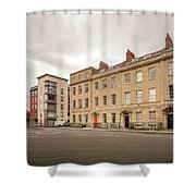 No 18-21 Portland Square Bristol England A Shower Curtain