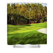No. 4 Flowering Crabapple Par 3 240 Yards Shower Curtain