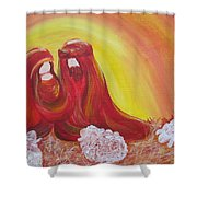 No. 6- Nativity Series 2015 Shower Curtain