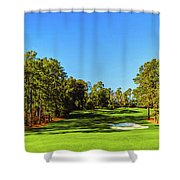 No. 8 Yellow - Jasmine 570 Yards Par 5 Shower Curtain
