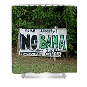No Bama Shower Curtain