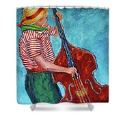 No Blues Today Shower Curtain