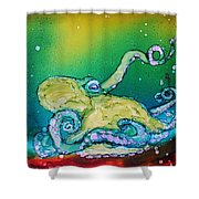 No Bones About It Shower Curtain by Ruth Kamenev