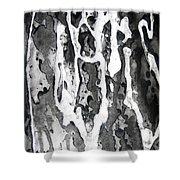 No Color Needed 7 Shower Curtain