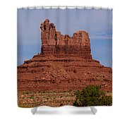 No Earthly Crown Shower Curtain