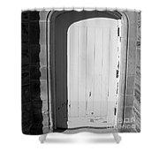 No Entrance Shower Curtain